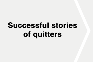 Quitters' Stories